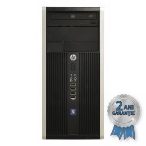 Sistem Refurbished H.P. Compaq 8200 ELITE, Intel® Pentium® G645T Dual-Core 2500MHz | 4GB RAM DDR3 | Hard Disk 500GB S-ATA | DVD-ROM | Video AMD® Radeon HD 7470 1GB