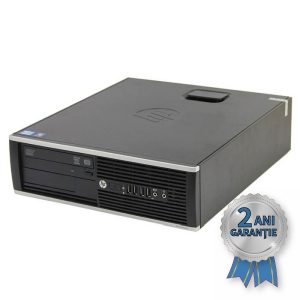 Sistem Refurbished H.P. Compaq Elite 8300 SFF, INTEL Core i5-3470 up to 3600MHz | 4GB RAM DDR3 | Hard Disk 750GB S-ATA | DVD-RW | Video Intel® HD Graphics 2500 | Licență Windows 10 PRO