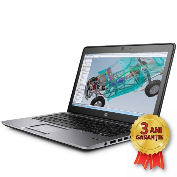 Laptop Refurbished HP EliteBook 840 G1, Intel® Core™ i5-4300U up to 2900MHz | 4GB RAM DDR3 | SSD 120GB M.2 2242 + HDD 500GB SATA | Video Intel® HD Graphics 4400 | Display 14 inch HD+ | Licență Windows 10 PRO