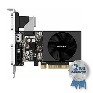 Placă Video NOUĂ PNY NVIDIA® GeForce™ GT 720 1GB GDDDR3 PCIe x8