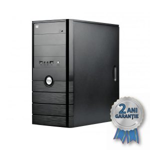 Sistem Nou SPIRE, Intel® Core™2 Duo E8400 3000MHz | 4GB RAM DDR2 | Hard Disk 500GB S-ATA | DVD-RW | Video NVIDIA® GeForce™ 210 1GB