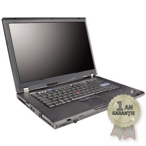 Laptop Refurbished LENOVO ThinkPad T61p, Intel® Core™2 Duo T7700 2400MHz | 3GB RAM DDR2 | Hard Disk 100GB SATA | DVD-RW | Video NVIDIA® Quadro™ FX 570M | Display 15,4 inch FHD+