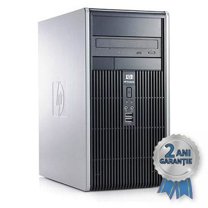 Sistem Refurbished H.P. Compaq dc5800, INTEL Core2Quad Q9400 2660MHz | 4GB RAM DDR2 | Hard Disk 320GB S-ATA | DVD-ROM | Video Intel® GMA Graphics