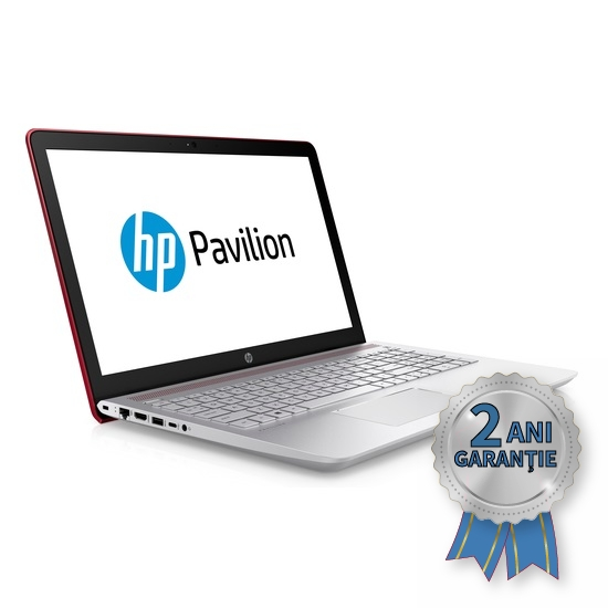 Laptop NOU HP Pavilion 15-cc041ng, Intel® Pentium® 4415U Quad-Core 2300MHz | 8GB RAM DDR4 | SSD 128GB M.2 2280 + HDD 1000GB S-ATA | Video Intel® HD Graphics 610 | Display 15,6 inch | Licență Windows 10 HOME