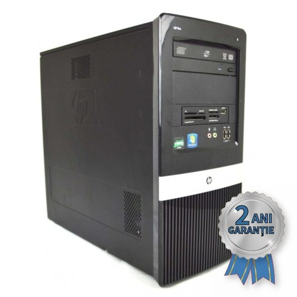 Sistem Refurbished HP Pro 3135 MT, AMD Athlon® X4 750K up to 4000MHz | 4GB RAM DDR3 | Hard Disk 500GB S-ATA | DVD-RW | Video ATI Radeon® HD 5450