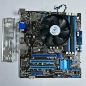 KIT Placă de bază ASUS P8B75-M Socket 1155 + Procesor INTEL® Core™ i5-3470 3.20GHz up to 3.60GHz Turbo Boost + Video onboard Intel® HD Graphics 2500 up to 1696MB + Cooler BOX + Shield