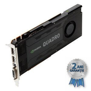Placă Video NVIDIA® Quadro® K4000 3GB GDDR5 192-bit PCI Express 2.0 x16