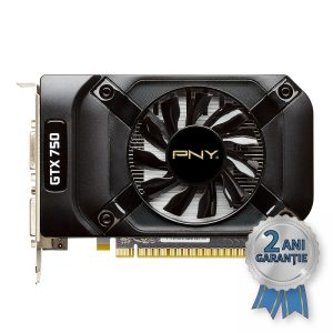 Placă Video NOUĂ PNY NVIDIA® GeForce™ GTX 750 1GB GDDDR5 PCIe x16
