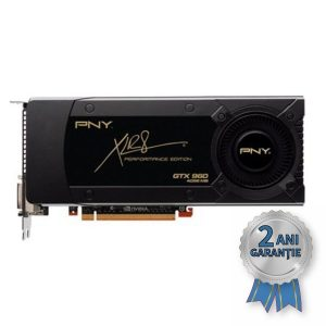 Placă Video NOUĂ PNY XLR8 NVIDIA® GeForce™ GTX 960 2GB GDDDR5 PCIe x16