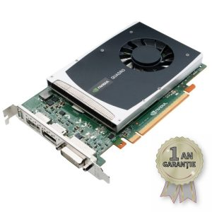 Placă Video NVIDIA® Quadro® 2000 1GB GDDR5 128-bit PCI Express 2.0 x16
