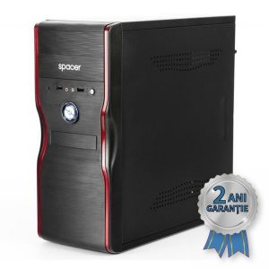 Sistem Nou SPACER, Intel® Core™ i3-3220 3300MHz | 4GB RAM DDR3 | Hard Disk 500GB S-ATA | DVD-RW | Video Intel® HD Graphics 2500