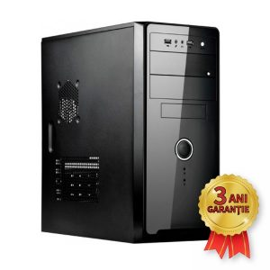 Sistem Nou SPIRE, AMD Athlon II X2 260 3200MHz | 4GB RAM DDR3 | Hard Disk 500GB S-ATA | DVD-RW | Video AMD® Radeon HD6570 1GB