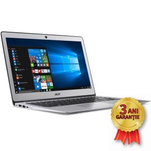 Laptop NOU ACER Swift 3, INTEL Core i3-6006U 2000MHz | 8GB RAM DDR4 | SSD 128GB M.2 2280 | Video Intel® HD Graphics 520 | Display 14 inch | Licență Windows 10 HOME