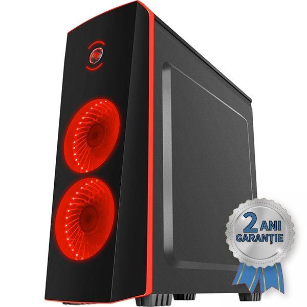Sistem Nou GENESIS TITAN 700, Intel® Core™ i5-3470 up to 3600MHz | 4GB RAM DDR3 | SSD 128GB SerialATA 6Gbps + Hard Disk 500GB S-ATA | Video Intel® HD Graphics 2500